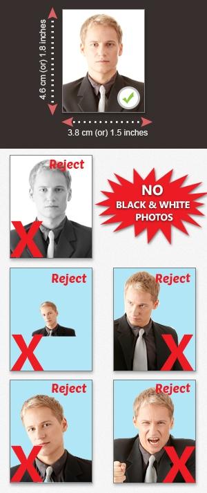 photo requirement